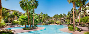 Las Vegas Getaway! Beautiful Tahiti Village 1 br Suite Sleeps 4!