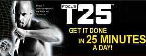 Focus T25 DVD set