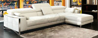 Exclusive Kijiji Offer - Save $500 - Black Leather Sectional