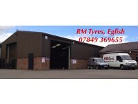 RM Tyres, Eglish - New and Part Worn Tyres