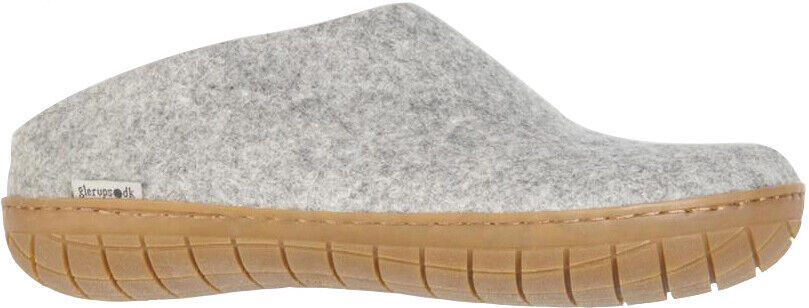 Glerups Unisex BR-01 - Felt Slippers With Rubber Sole