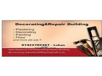 Paintin decorating plastering