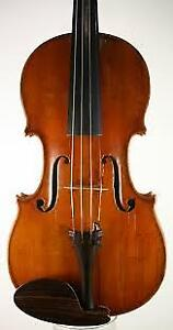 Fine French Violin - 7/8 size - shoulder rest and case included