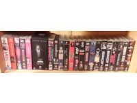 Collection of 30 1980's-90's actions films movies on VHS.