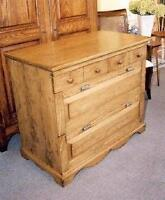4 Drawer Lateral File Cabinet Credenza - Solid wood