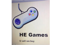 Games consoles wanted
