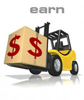 Forklift JOBS $14-$18/hr + Training + Approved Photo Licence