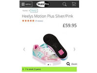 Girls Heelys size 4