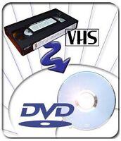 Transferts de VHS sur DVD