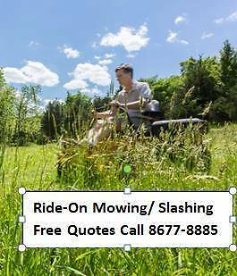 Ride-On Mowing and Slashing