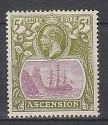Ascension Stamps