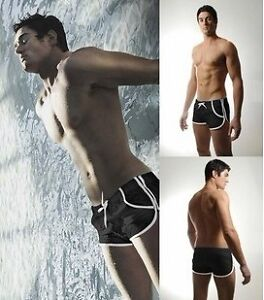NEW-SUPERBODY-MEN-SEXY-Brief-Swimwear-Color-Black-Size-M-L-XL-XXL-SP15