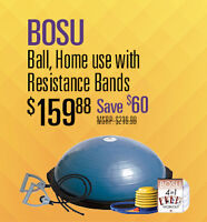 BOSU BALL ON SALE AND IN STOCK AT LONDONS #1 FITNESS SUPER STORE
