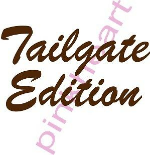 TAIL GATE EDITION Coachmen Decal RV sticker graphics trailer rv tailgate decals3
