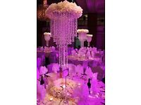 Wedding & Party Decoration , Centre Pieces Table Decor , Uplighting , Asian Wedding Services Stage