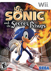 sonic the golden rings wii
