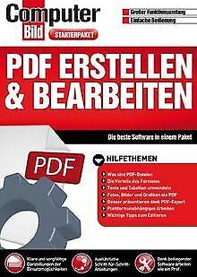 PDF erstellen & bearbeiten (Computer Bild) von ... | Software | Zustand sehr