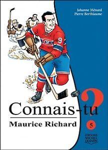 livre pour enfants Connais-tu Maurice Richard?