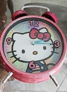 Hello Kitty Table / Desk Clock - 1 Ft High : Like New