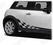 Mini Cooper Checkered