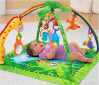 Fisher Price Deluxe Gym - melodies & lights