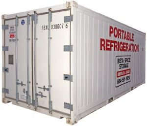 Refrigerated Container / Step in Freezer