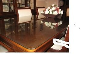 Glass Table Topper REDUCED PRICE  AGAIN !!!!!!
