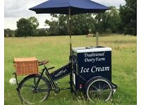 Ice cream bike tricycle