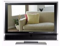 "Hannspree 37"" Widescreen HD Ready LCD TV WXGA With HDMI And Speakers"