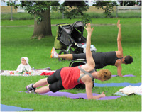 OUTDOOR Mommy and Baby Boot Camp!