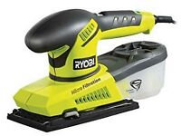 Ryobi Sander 200W 1/3 sheet sander (model ESS200RS) boxed