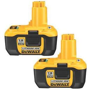 dewalt 18v lithium battery ebay. Black Bedroom Furniture Sets. Home Design Ideas