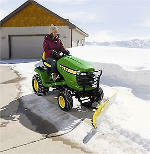 John Deere 44 Inch Front Snow Blade For 2006-15 X300 Series Lawn Tractors 6001m