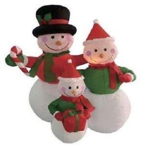 snowman yard decoration - Snowman Christmas Decorations