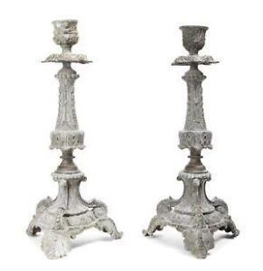 Vintage Sterling Silver Candlesticks 18f275116