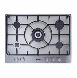 STOVES 70CM STAINLESS STEEL GAS HOB