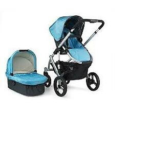 2 in1 Uppababy Vista stroller with car seat-adapter-.......