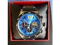 Ferrari pilota chronograph watch (new unused ) £160 ono