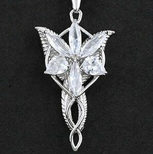 Necklace Pendant Amulet Lord of The Rings Elven Princess ...