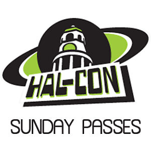Hal-con 3 x Sunday Day Passes at reduced price