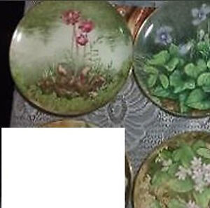 11 Provincial / Territorial Floral Emblem Collectible Plates London Ontario image 4