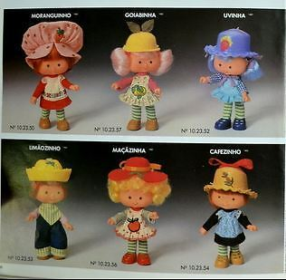 Brazil Strawberry Shortcake Dolls- moranguinho