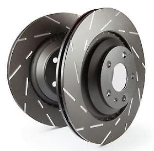 USR1590 EBC Ultimax Brake Discs Rear (PAIR) for VOLVO S60 S80 V60 V70 XC70