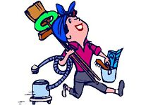 HELP with cleaning , house clearances , Office ceaning or any help just call