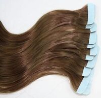 Rallonges tape 100% humain - tape in hair extensions 100% human