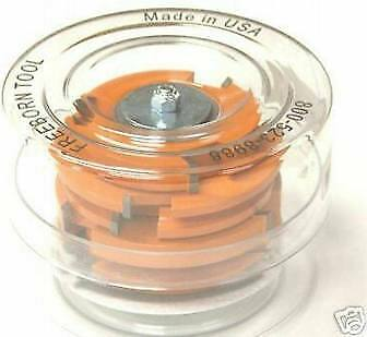Freeborn Cope Pattern Shaper Cutter Set Pc-10-500-502 Eased Edge