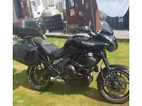 Kawasaki 650 versys tourour 2010 £2800