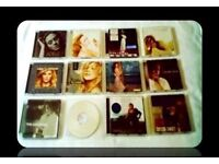MUSIC CDS - FEMALE SINGER - (14 discs ) - FOR SALE