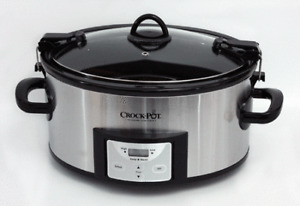 Cook and Carry Crockpot Slow Cooker 6 quart