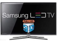 "Samsung 46"" LED 3D Smart Internet Tv with freeview"
